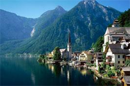 Autriche, région du Salzkammergut