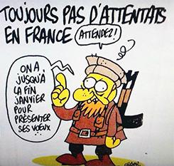 Charlie Hebdo, dessin de Charb
