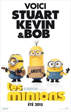Les Minions, Stuart, Kévin et Bob