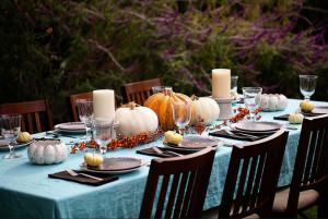 Thanksgiving en extérieur
