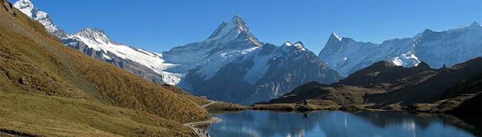 La montagne dans les Alpes Suisse