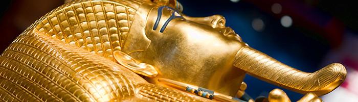 Tombeau en or de Toutankhamona